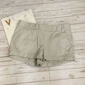 "jcrew womens 4 3"" broken-in chino short stone beig"